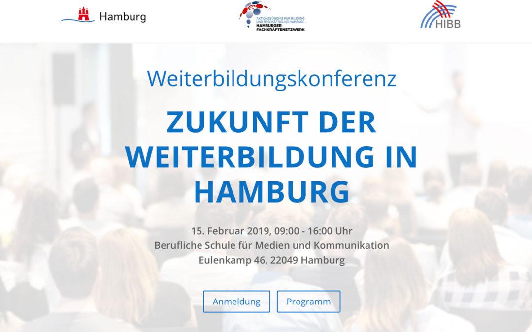 Tagungsdoku: Zukunft der Weiterbildung in Hamburg